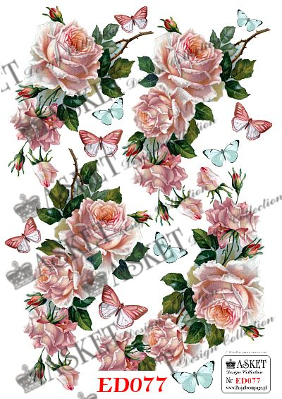 papier do decoupage Asket Design Collection