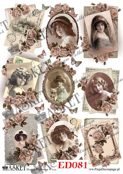 decoupage paper, papier do dekupa�u
