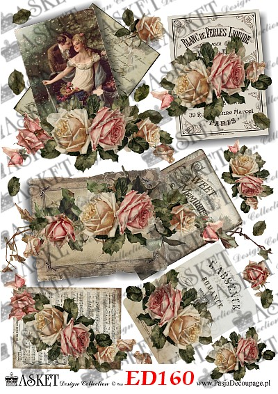 papier decoupage Asket design Collection
